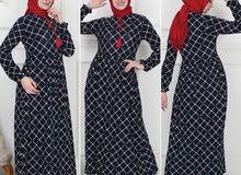 توفرت فساتين جميله مرتبه قماشه ليكرا السعر20الف للحجز ارسل جديد فستان خامه تركيه