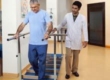 اخصائي علاج طبيعي منازل