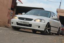 White Honda Civic 1997 for sale