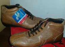 حذاء  جلد طبي من محل الاسكافي جديد مقاس 40 نوعية ممتازة