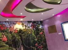 شقة روف 4 غرف (مع السطوح ) للبيع سوبر ديلوكس