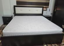 غرفة نوم استعمل ثلاث اشهر بحالة جديده مع فرشة ريم جديده