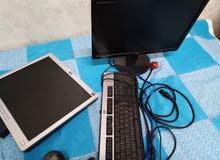 شاشت كمبيوتر LG و شاشة hp
