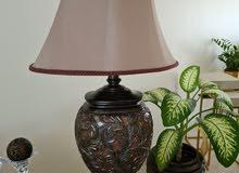 اباجورة لمبادير taple lamp
