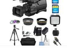 كاميرا فيديو سوني موديل 2500 جديد مع الملحقات