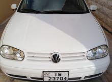 Volkswagen Golf 2001 For sale - White color