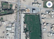 ارض سكني تجاري 414م في ولاية بركاء السوادي شمال على شارع قار قريبة من جامع التقو