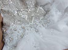 فستان زفاف استعمال مره واحده