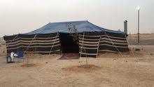 مخيم للإيجار مساحه عشره الاف قسمين