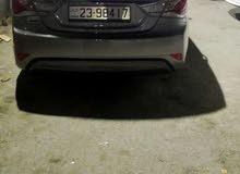 Beige Hyundai Sonata 2012 for rent
