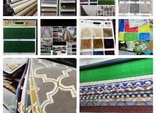 vinyl/pvc/carpets/curtain/sofas/wood/gypsum decor sell/fix/making