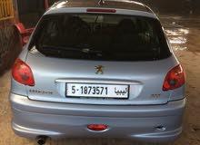 For sale Peugeot 206 car in Tripoli