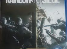 لعبه rainbow si× siege لل ps4