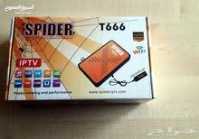 رسيفر سبايدر  SPIDER T666 مستعمل اقل من شهر