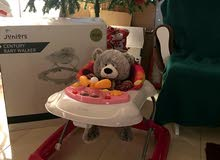 Travel Cot/ Crib (40ro), Infant Car Seat (20ro), Baby Walker (8ro)