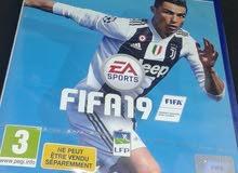 دسكة FIFA19 عربيه جديده بالنايلو