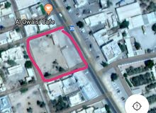 أرض سكنيه تجارية بالقرب على الشارع بالقرب من دوار الوافي للتأجير