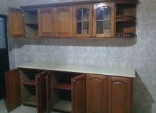 دولاب مطبخ خشبي