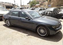 Blue BMW 745 2003 for sale