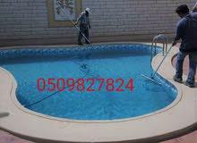 شركة لتنفيذ احواض السباحة وتنفيذ الشلالات والنوافير