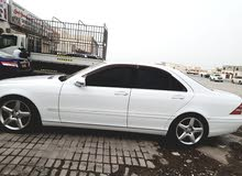 For sale 2001 White S 500