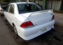 For rent a Mitsubishi Lancer 2001
