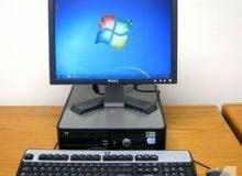 جهاز كمبيوتر مكتبي مستعمل DELL بسعر مغري