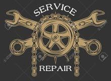 صيانة جميع انواع الدراجات النارية