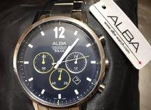 ساعة ALBA جديدة غير مستعملة مع كفالتها للبيع