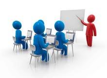 مطلوب مسوق وسكرتير دورات تدريبية