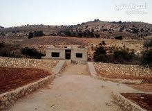ارض للبيع لمحبي الهدوء والسكن الراقى مطلعه على جبال فلسطين