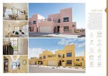 للبيع فيلات 4و5 غرف جاهزة فى دبى بمنطقة ند الشبا