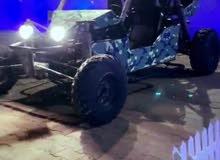 للبيع سيارة تجميع ( ماكينة جيلي + قير عادي جيلي 4 غيار ) اللون بوبجي كشافات علوي
