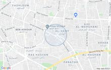 بدروم وصاله دور ثاني  للاجار اربع شوارع سوق الفرشات زناته جامع صقع