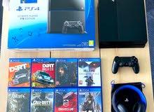 PS4 1TB + 8 Games