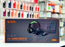 Porodo 4in1 Gaming Starter Kit  Keyboard