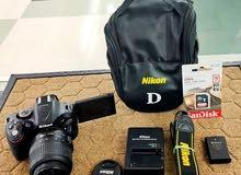 Nikon d5200  جديدة جداً