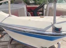 قارب عائلي 8 اشخاص للبيع مع محرك مارينير 200