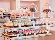 مطلوب محل حلويات للإيجار