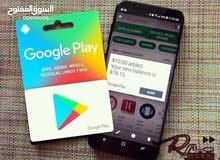 9b8993782 بطاقات جوجل بلاي و وابل ستور شحن لعبة ببجي موبايل بسعر فرصة