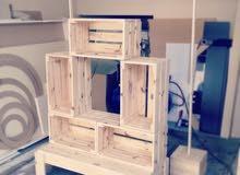 طقم خشب للبيع (يصلح للتنسيق المناسبات والديكور)