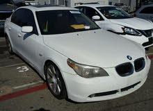 سيارة BMW 530i بحالة جيدة جداً للبيع