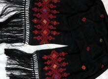مطرزات فلسطينية رائعة يدوية الصنع معلقات ،قرن ، شال،ميداليات ،براويز
