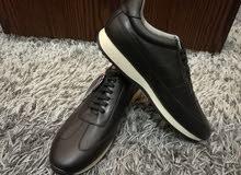 ZARA أحذية سبور جلد طبيعي صناعة اسبانيا