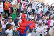 سبايدر مان وحفلات الاطفال