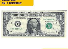 1 US $ STAR NOTE RARE