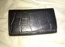 محفظه نسائيه للبيع جلد طبيعي