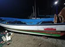 قارب  20 قدم  مع مكينة 55 مرينير مع الملكية للبيع