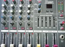 mixer 4 channels مكسر صوت