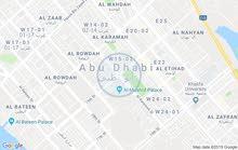 للايجار فيلا بابوظبي منطقه المرور سكني تجاري زاويه علي شارع عام تشطيب ممتاز